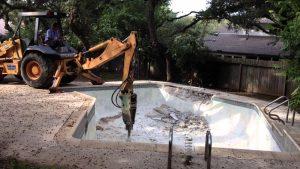 Pool Demolition Rockport